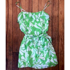 NWT Lilly Pulitzer Darcia Printed Dress Limeade 4
